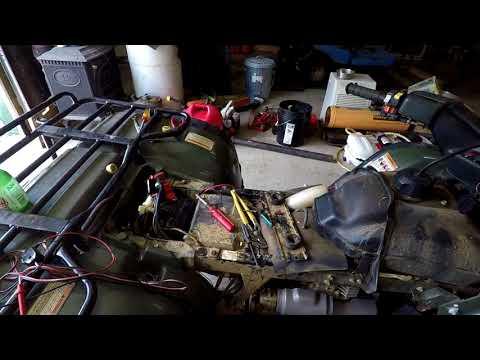 Honda Forman 400 ATV Electrical Problem - YouTubeYouTube