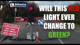 Traffic Lights stuck on red - what should you do?