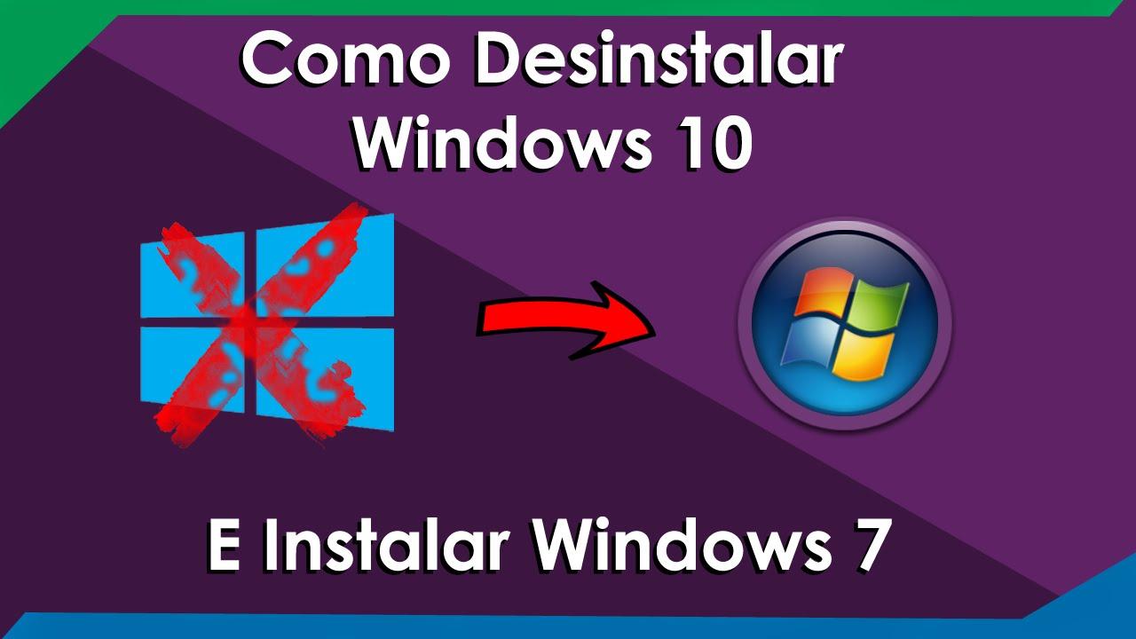 como instalar windows 10 desde windows 7