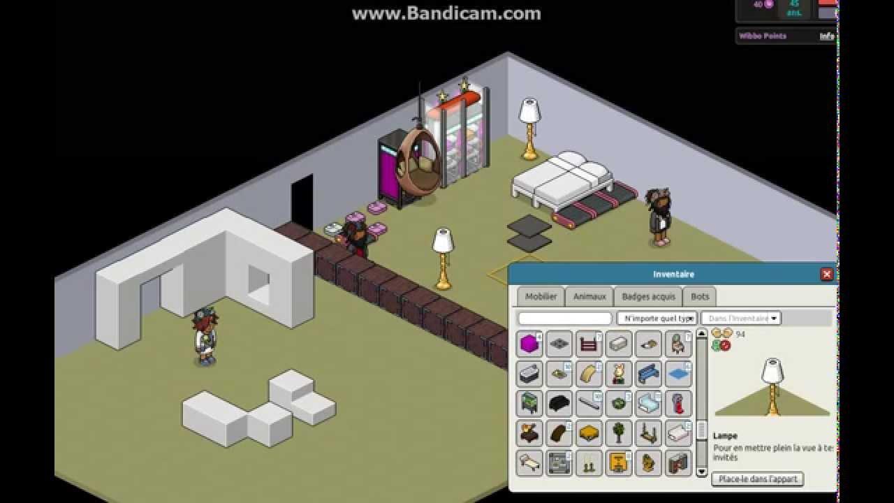 Habbo comment faire une chambre d 39 enfant et une d 39 adulte partie 1 youtube - Comment refroidir une chambre ...