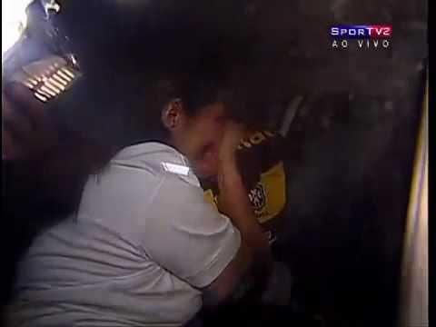 Goalkeeper Julio Cesar Crying In Rio De Janeiro Spain España Holland Países Bajos Iran