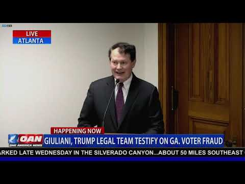Lawyer outlines multiple examples of illegal voting activity in Georgia