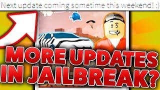 ANOTHER NEW UPDATE IN ROBLOX JAILBREAK?!