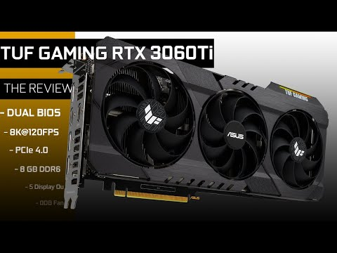 TUF GAMING RTX 3060 Ti, redefining what mid-range can do!