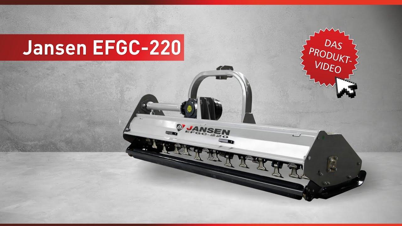 Mulcher Jansen EFGC-220