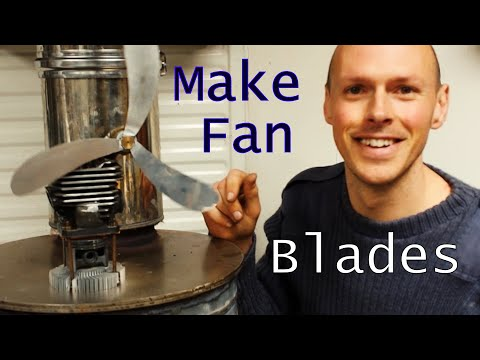 How to make DIY Stove Fan Blades (Upcycled)