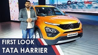 Tata Harrier First Look | NDTV carandbike