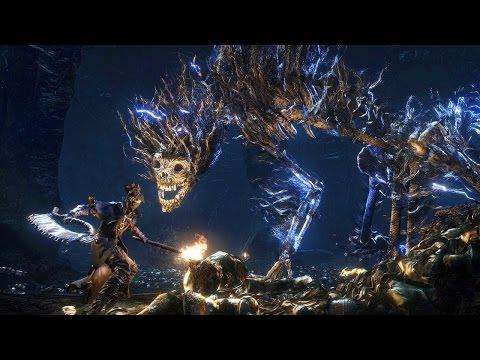Bloodborne: Darkbeast Paarl Boss Fight (1080p)