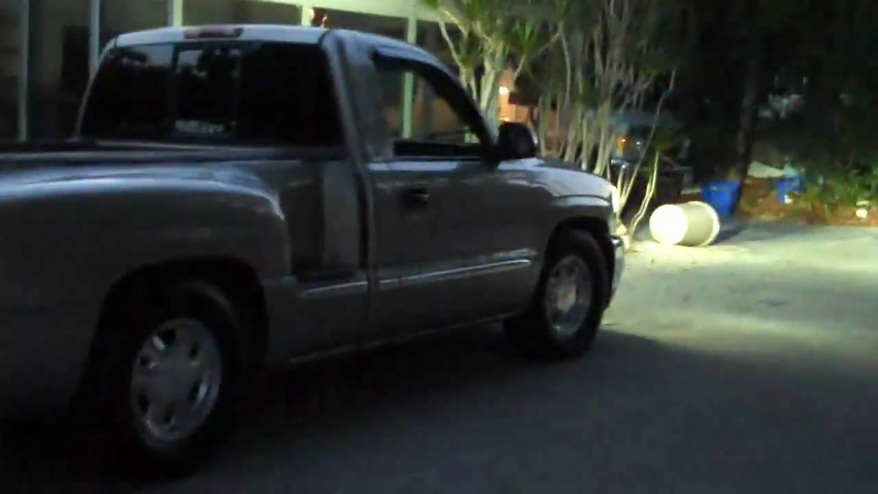 2000 gmc sierra pickup for sale or trade  8 000 hot rod