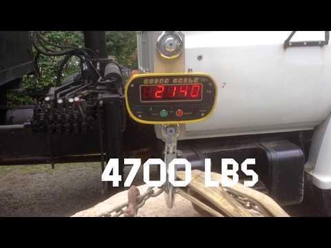 Weighing Large Boulder