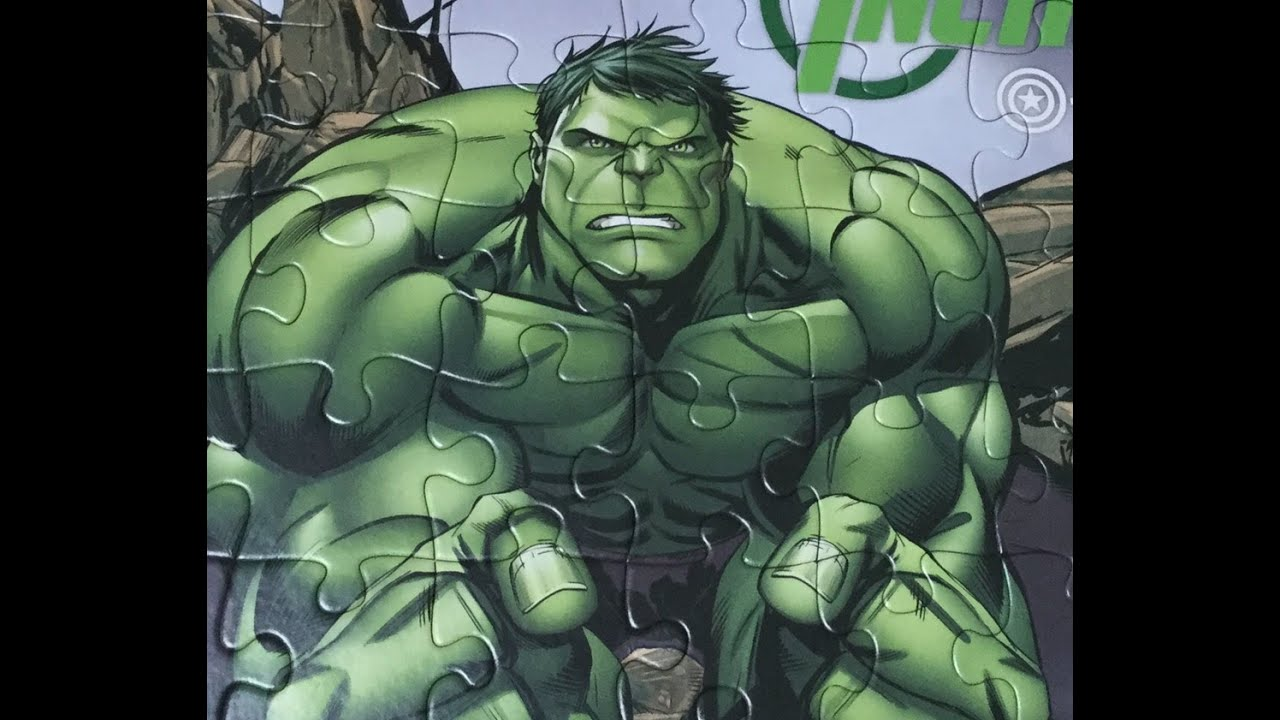 Puzzle Games Marvel Avengers Play Rompecabezas De Hulk