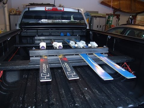 Make a Ski Carrier for Your Truck/Vehicle