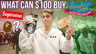 What Can $100 Buy at Sneakercon Challenge?!