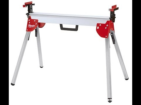 Milwaukee Miter Saw Stand 48-08-0551 Review