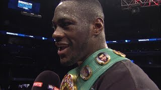 BREAKING NEWS!! DEONTAY HAS CONTRACT TO FIGHT ANTHONY JOSHUA CONFIRMED BY EDDIE HEARN thumbnail