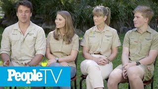 Bindi Irwin's Boyfriend Chandler Opens Up About The Moment They First Met | PeopleTV
