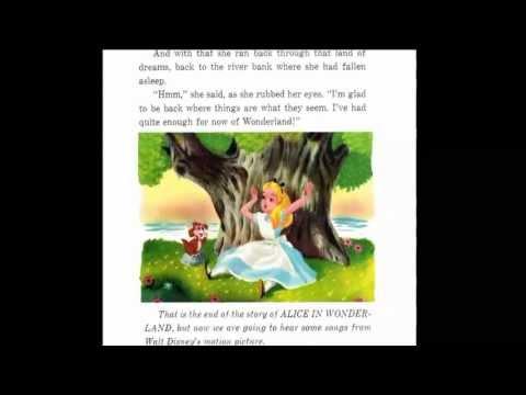 Alice In Wonderland - Disney Story