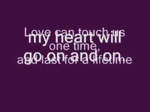 Celine Dion - My Heart Will Go On - Titanic Theme - Lyrics Best Ever