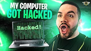 MY COMPUTER GOT HACKED?! WHAT DID I DO?! (Fortnite: Battle Royale)
