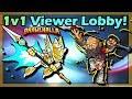 Playing with Viewers! • Brawlhalla 1v1 Diamond Gameplay Viewer Lobby