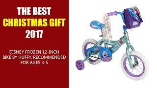THE BEST CHRISTMAS GIFT 2017 - Disney Frozen 12 inch Bike by Huffy, Recommended for Ages 3-5