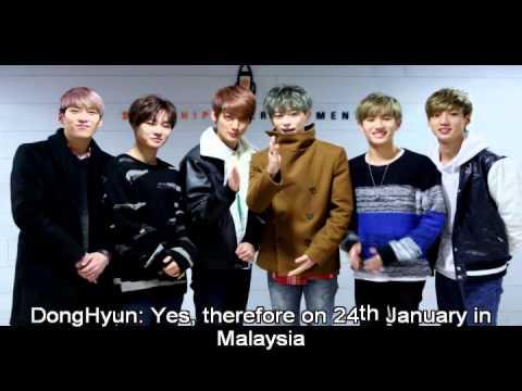 "Boyfriend the First Mini Concert ""Bewitch"" in Malaysia 2015"