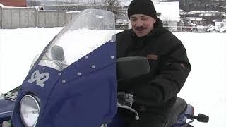 Первый переднеприводный мотоцикл Урал. ПРЕВЬЮ.