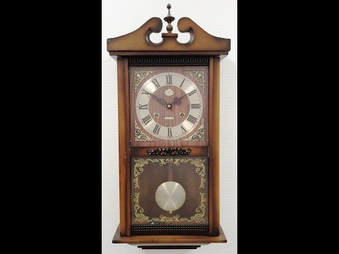 Clock Strike Chime Sound 31x Day BEACON Pendulum Wall -1125 BidAway / eXibit collection