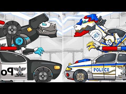 Dino Robot: Tarbo Cops & T-Rex Cops | Eftsei Gaming