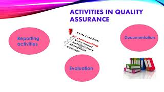 The role of quality assurance in the pharmaceutical industry.