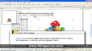 OpenOffice 3 1 Draw WingsLive com