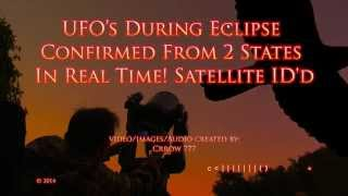 UFO History Made During Lunar Eclipse!