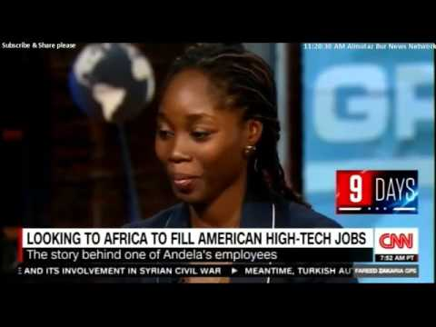 Jeremy Johnson Andela Co Founder and CEO to fill American HIGH TECH Jobs @JeremyJ - hillary clinton