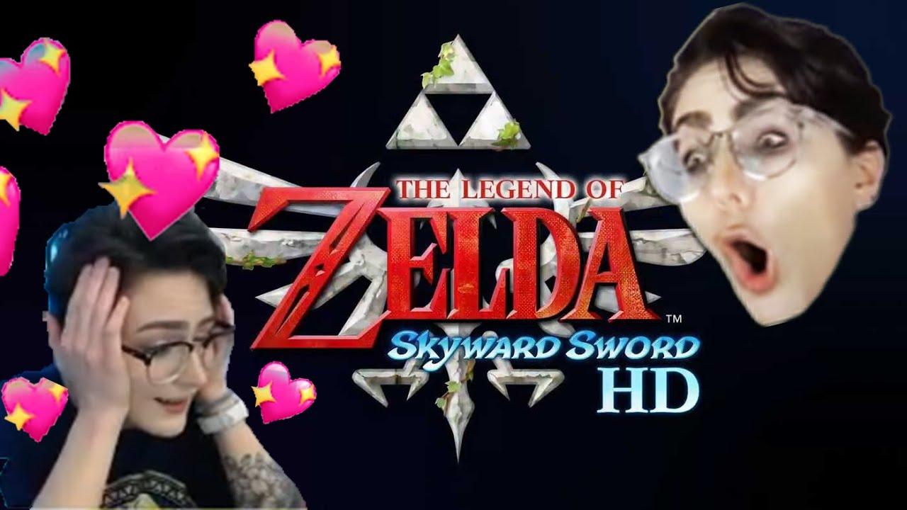 ✰Skyward Sword HD Reveal✰ I'VE ASCENDED!!!!!!