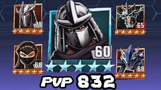 TMNT Legends PVP 832 - Shredder Classic / Super Shredder / Shredder Nick / Karai / Karai-Serpent