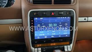 """AX-J9703 Equipo multimedia ANDROID 9.0 pantalla 9"""" para Porsche Cayenne 9PA"""