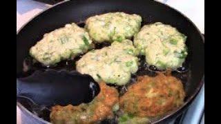 Ленивые пирожки с зеленым луком и яйцом . Пирожки за 10 минут .