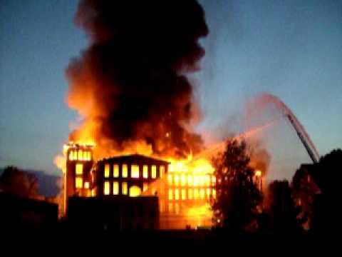 Woonsocket Mill Fire