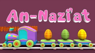 Download lagu Animation 3D Juz Amma An Nazi at For Children Memories with Battar trains hijaiyah by abata chann MP3