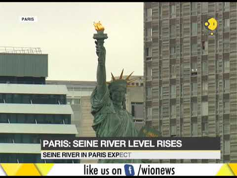 Paris: Seine river level rises