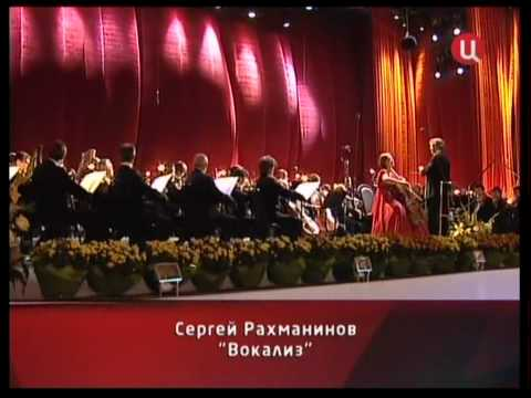 Cellist Nina Kotova:  Live from Red Square. Rachmaninov. Vocalise