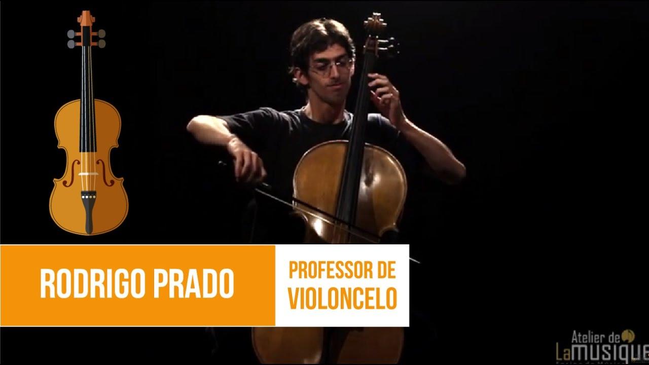 """Download """"Suíte n. 1 - Sarabanda"""" (Bach) - Rodrigo Prado (Professor de Violoncelo do Atelier de La Musique)"""