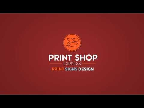 Print Shop How to Order Online