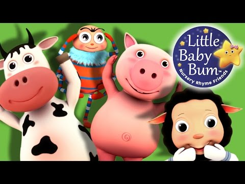Head Shoulders Knees and Toes | Part 2 | Nursery Rhymes | by LittleBabyBum!