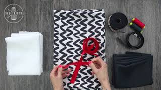 Обзор материалов для пошива куртки-бомбера GUCCI