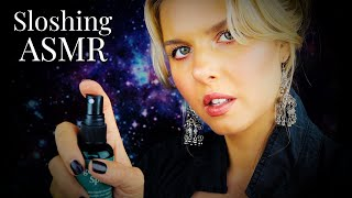 Mind Melting ASMR/Thickening Your Aura/Sprays, Moon Water, Sloshing Sounds/Personal Attention Reiki