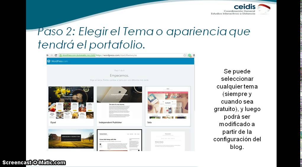 Portafolio Digital parte1 (Suscripción a Wordpress) - YouTube