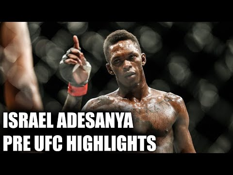 Israel Adesanya Crazy Highlight Reel