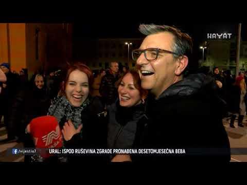 EVO KAKO SU NOVU GODINU DOČEKALI U TUZLI, MOSTARU, ZENICI, BRČKOM... (01 01 2019)