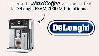 DeLonghi ESAM 7000 M PrimaDonna | Machine à café automatique | Le Test MaxiCoffee